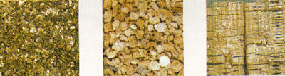 Pictures of Unexpanded and Expanded Vermiculite